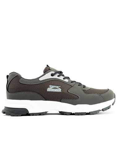 Slazenger Slazenger Adva Koşu & Yürüyüş Erkek Ayakkabı  Gri